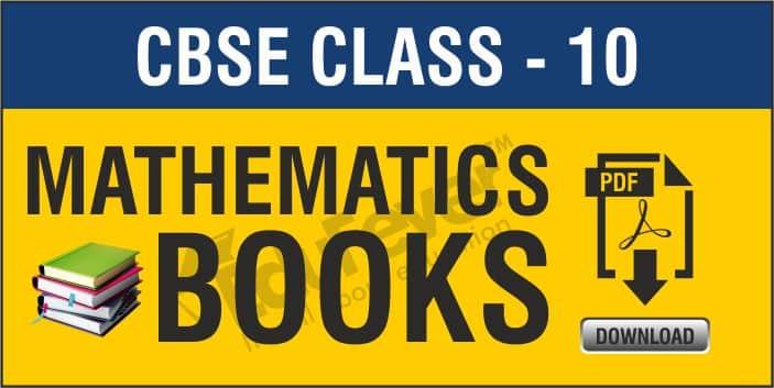 Class 10 Mathematics NCERT Books