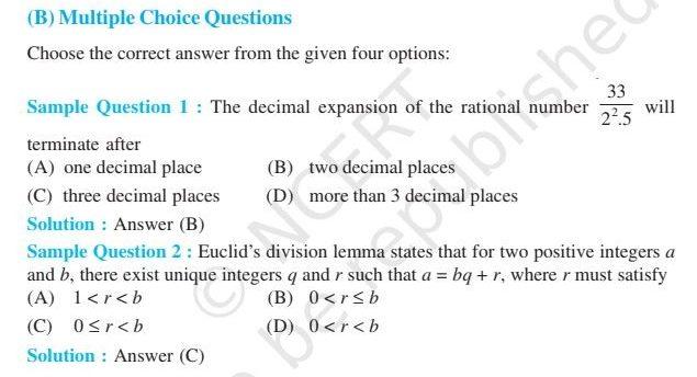 Class 10 Maths Exemplar Book & Solutions