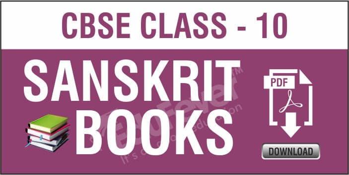 Class 10 Sanskrit NCERT Books