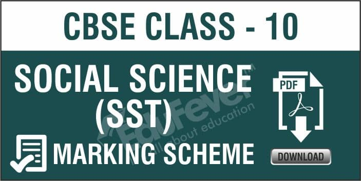 Class 10 Social Science Marking Scheme