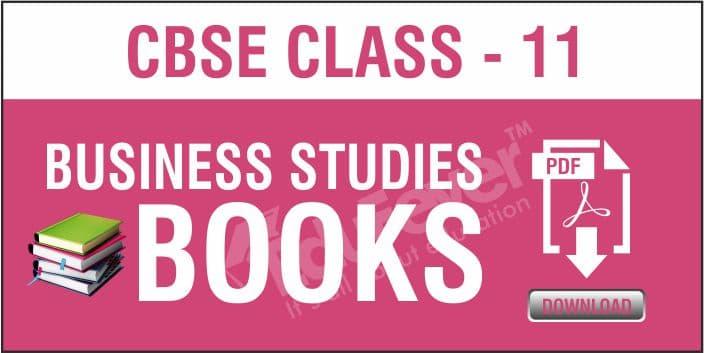 Class 11 Business Studies NCERT Books