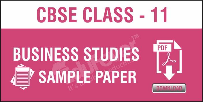 Class 11 Business Studies Sample Papers