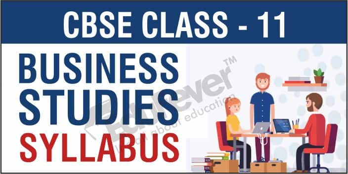 Class 11 Business Studies Syllabus