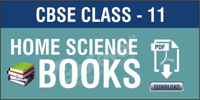 Class 11 Home Science NCERT Book