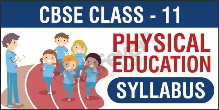 Class 11 Physical Education Syllabus