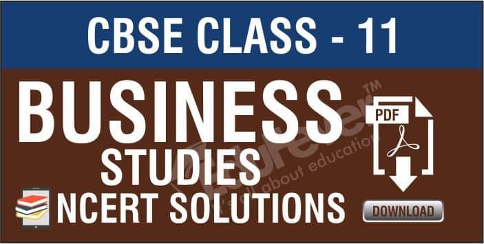 Class 12 Business Studies NCERT Solutions 1