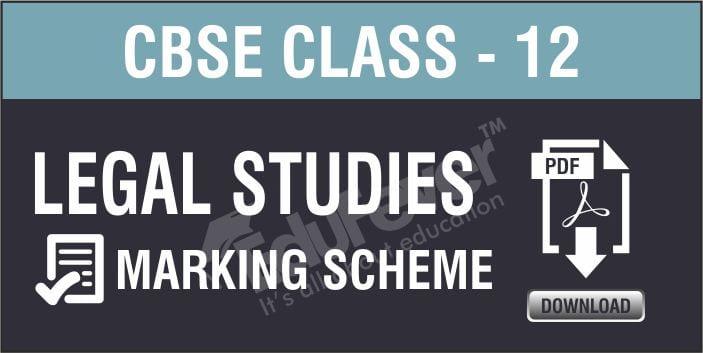 Class 12 Legal Studies Marking Scheme