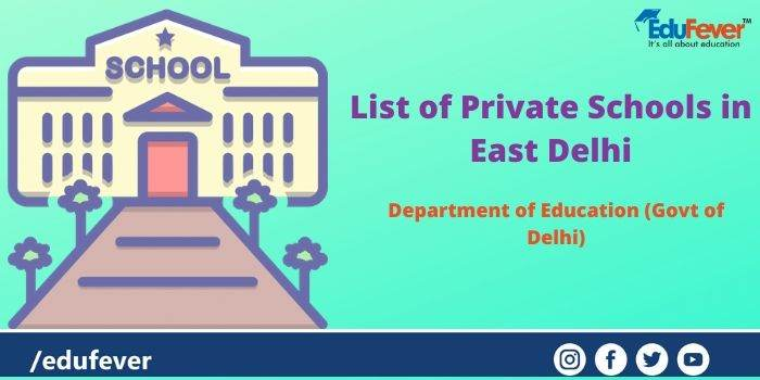 List of Private Schools in East Delhi
