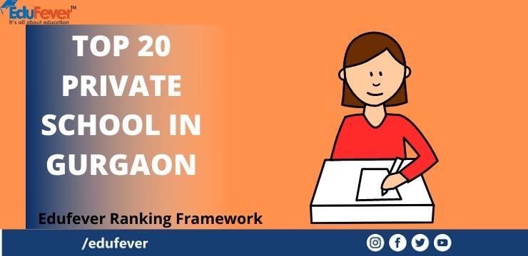 Top 20 Private School in Gurgaon 2021-22