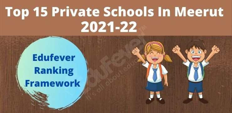 Top 15 Private School In Meerut 2021-22