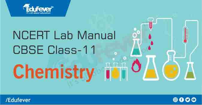 CBSE Class 11 Chemistry Lab Manual