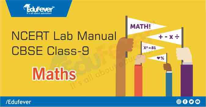 CBSE Class 9 Maths Lab Manual