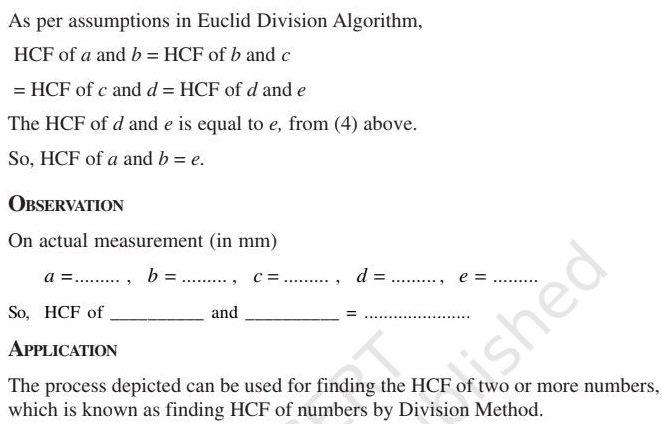 Class 10 Maths Lab Manual