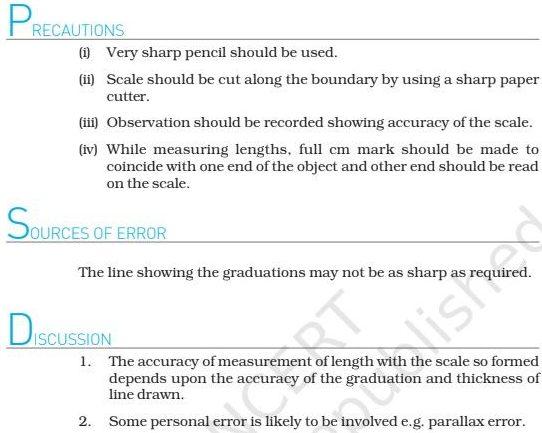 Class 11 Physics Lab Manual
