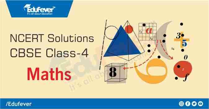 Class 4 Maths NCERT Solution