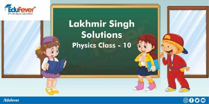 Lakhmir Singh for Class 10 Physics