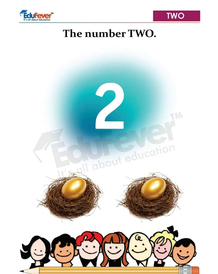 counting of 2