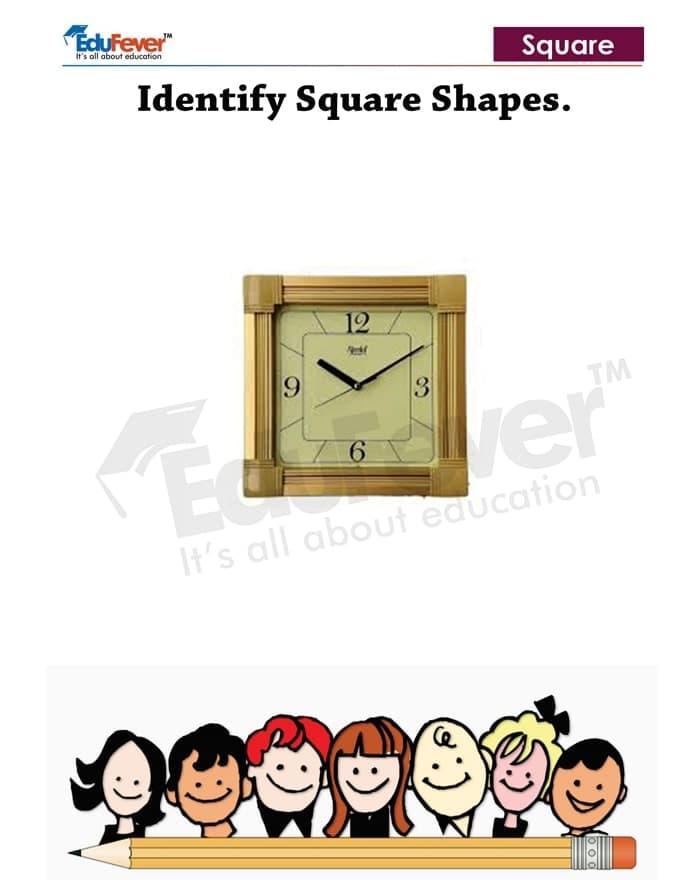 Identifying-Square-Shapes-Worksheets