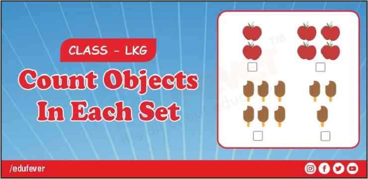 count object in each set