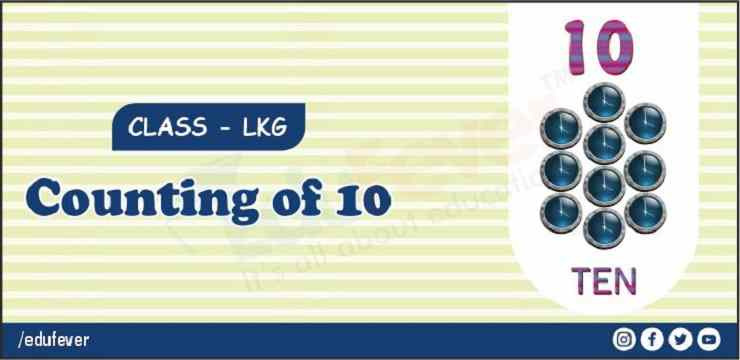 counting of 10