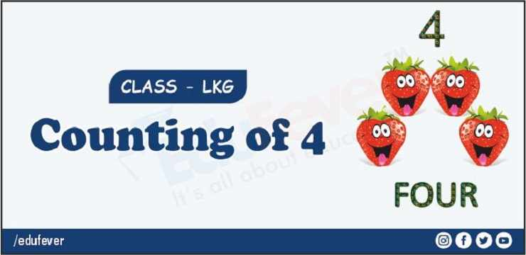 counting of 4
