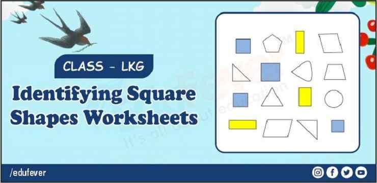 identifying square shapes