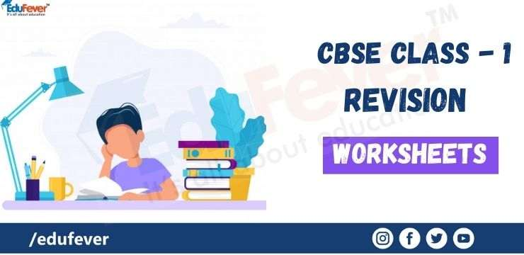 CBSE Class 1 Revision worksheets