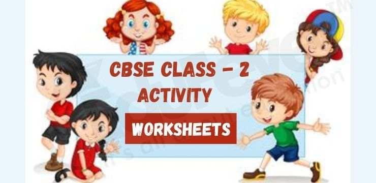 CBSE Class - 1 activity worksheets