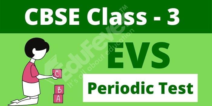 Class 3 EVS Periodic Test