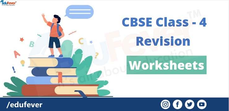 class 4 revision worksheets
