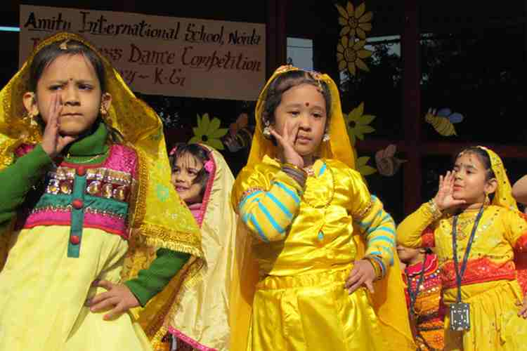 Amity International School Noida dance photo