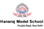 Hansraj Model School Punjabi Bagh logo