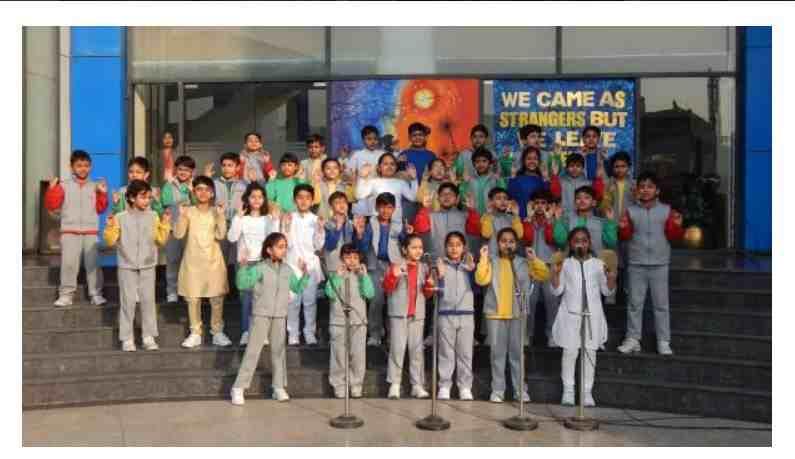 Lotus valley International School function