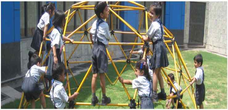 Lotus valley International School playground