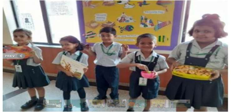 Lotus valley International School kids presentation