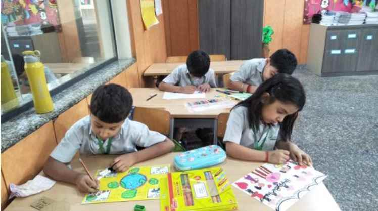 Lotus valley International School Kids