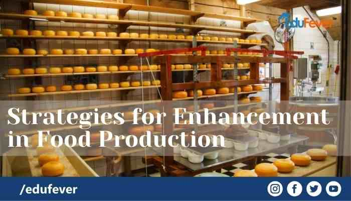 Strategies for Enhancement in Food Production biology class 12 ncert